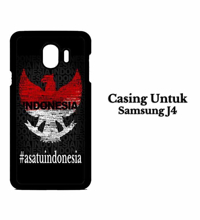 Casing SAMSUNG J4 2018 Garuda satu indonesia Hardcase Custom Case Snitchshop