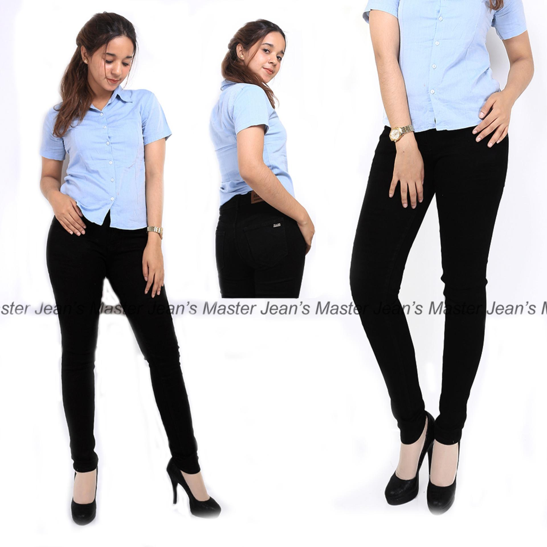 Celana Jeans Wanita Basic Skinny Polos Promo By Master Jeans.