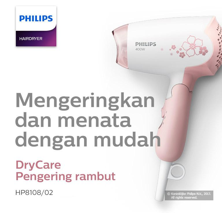 Philips Hair Dryer HP8108 02 DryCare - Hair Dryer Pengering Rambut ... 716efb96f9