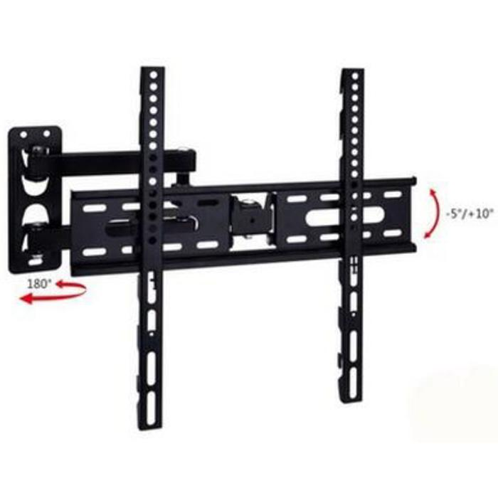 Telescopic TV Bracket 1.3M Thick 400 X 400 Pitch For 26-55 Inch TV