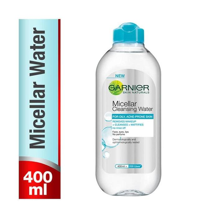 Ready Stock Garnier Micellar Cleansing Water BLUE - 400 ml Botol Besar