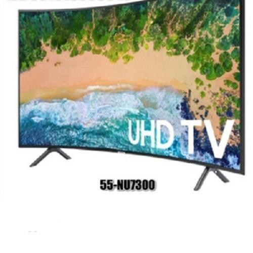 LED TV SAMSUNG 55NU7300 ULTRA HD 4K SMART TV CURVED 55 SERIES 7 NEW (Free Ongkir JADETABEK)