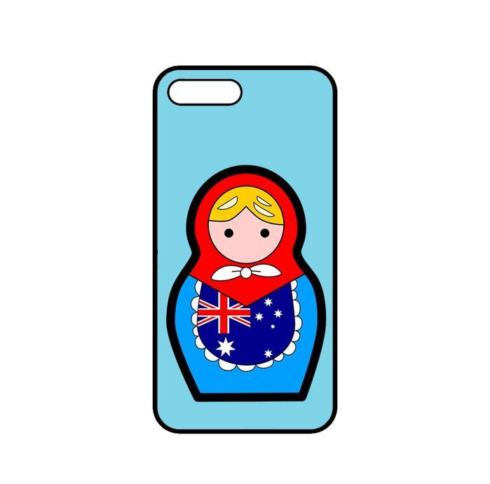 Casing Custom iPhone 7 Australia Matroska Fifa 2018 L2555