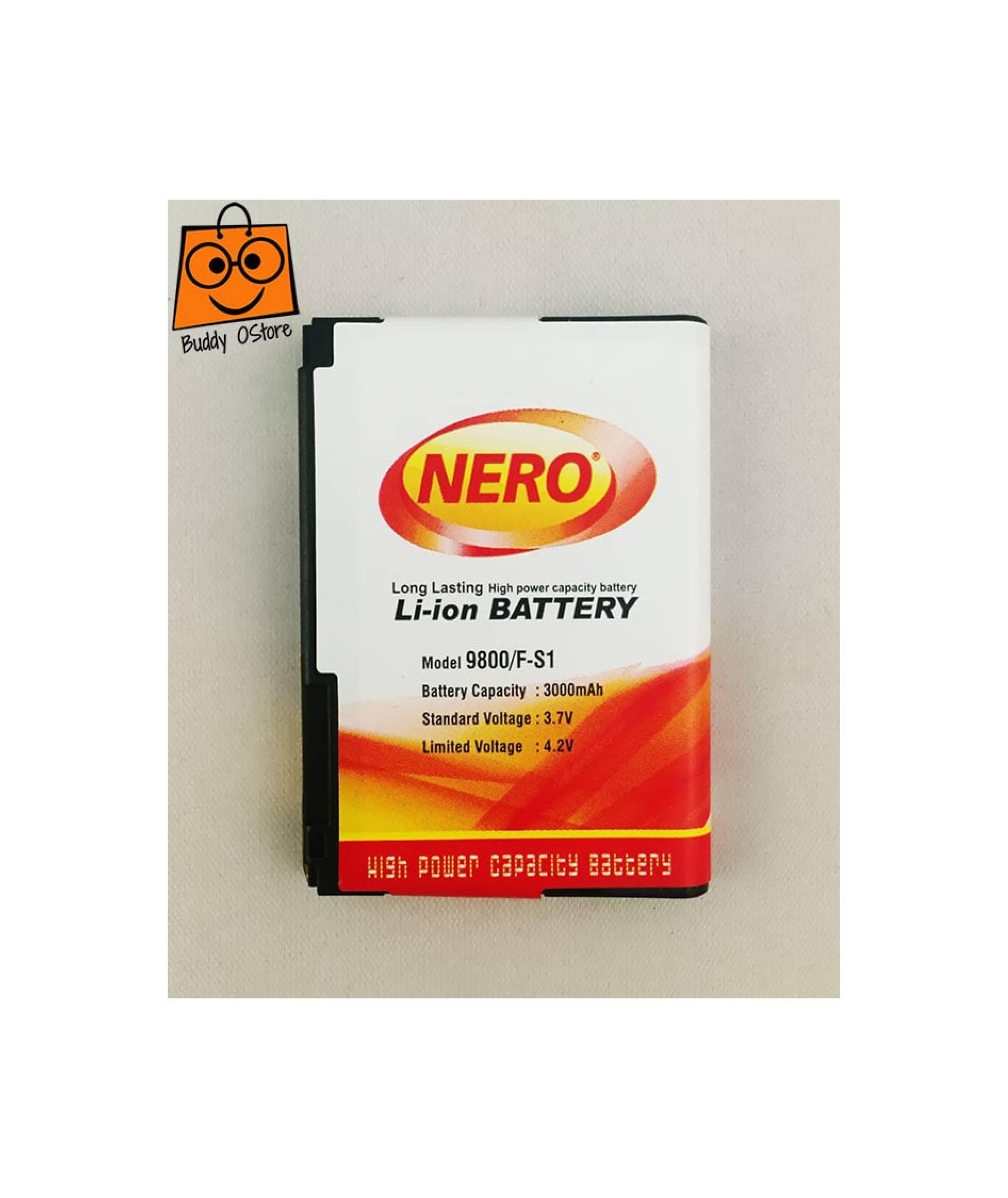 Baterai BlackBerry BB Torch 9800 / 9810 F-S1 FS1 Nero Double Power