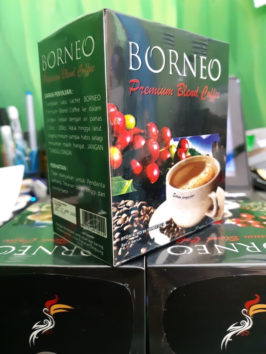 Kopi Borneo Kopi Herbal Plus Pasak Bumi 1 boks