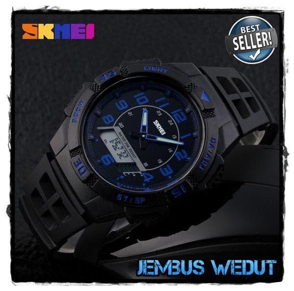 BEST SELLER SKMEI Casio Men Sport LED Watch Water Resistant 50m - AD1065 - KnTCPTvU
