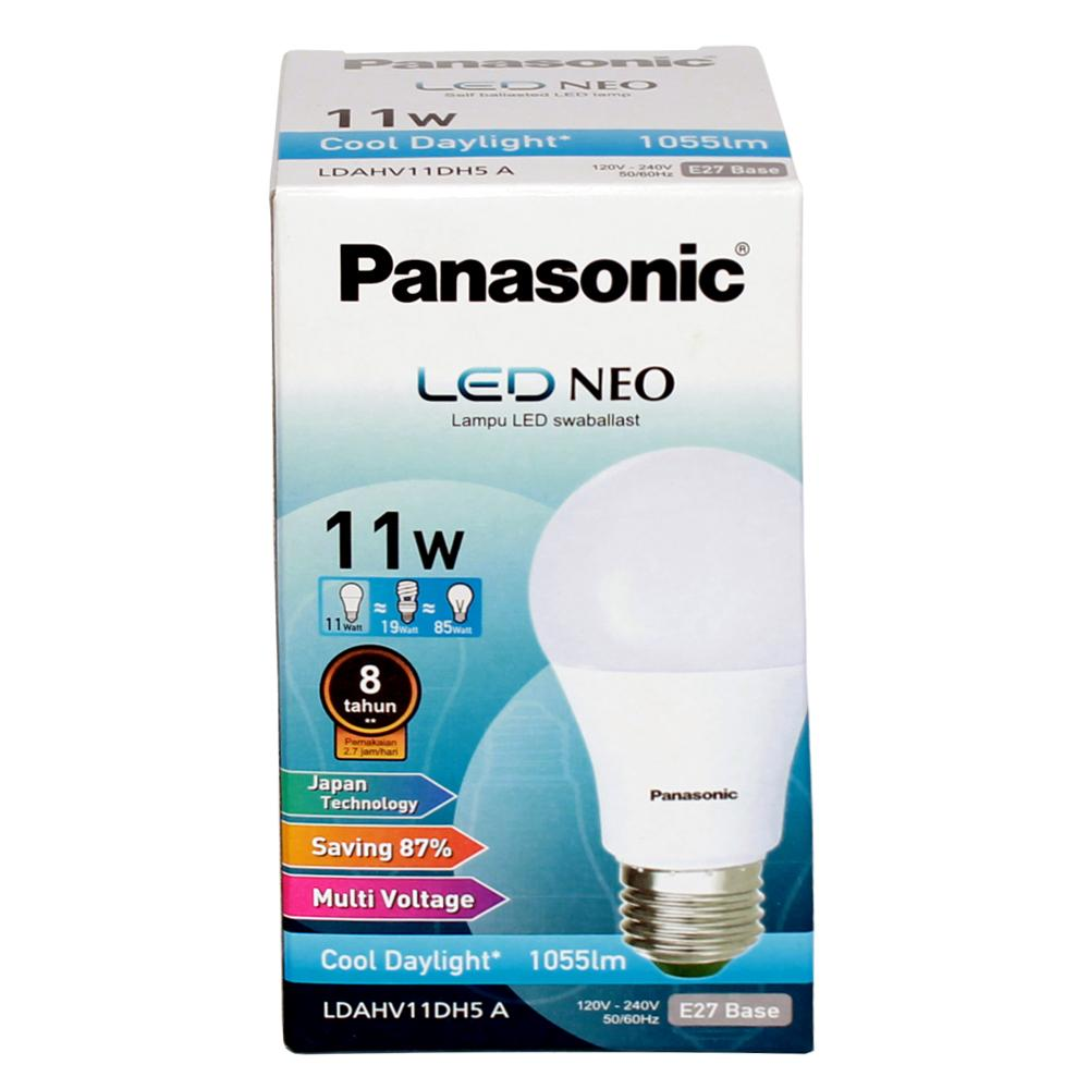 Panasonic Lampu Led Neo Cool Daylight 11 Watt - Ldahv11dh7a By Gudangkita Com.