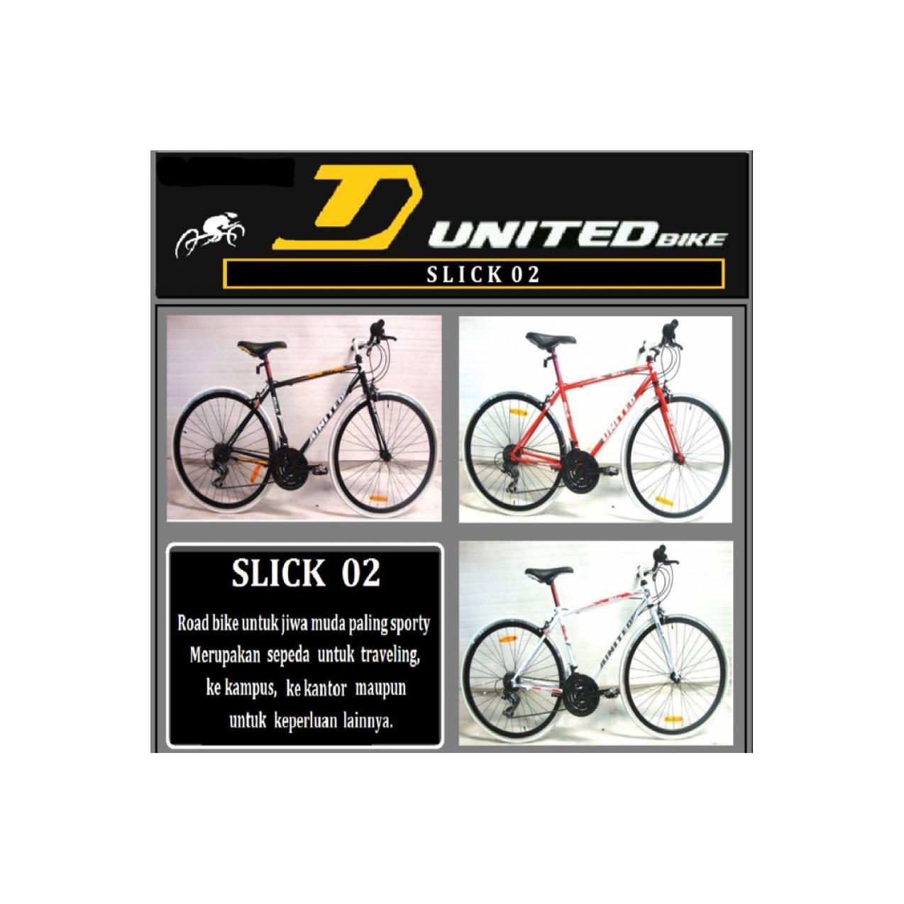 Sepeda Semi Balap 700c United Slick 02