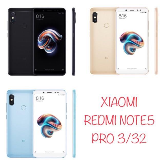 [ORIGINAL] XIAOMI REDMI NOTE 5 PRO 3/32GB GARANSI 1 TAHUN