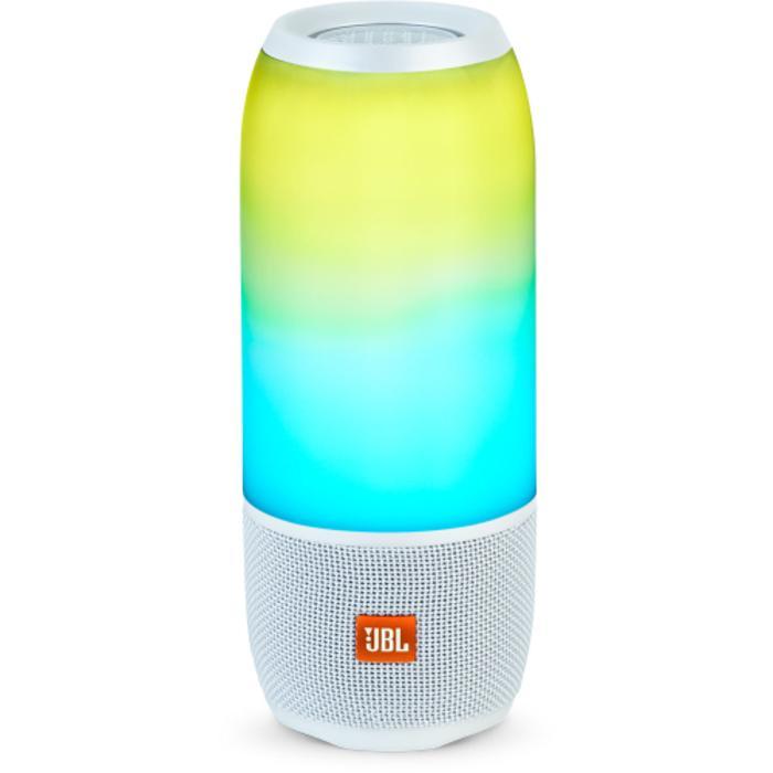 JBL Pulse 3 Wireless Bluetooth With IPX 7 Waterproof Speaker White Original