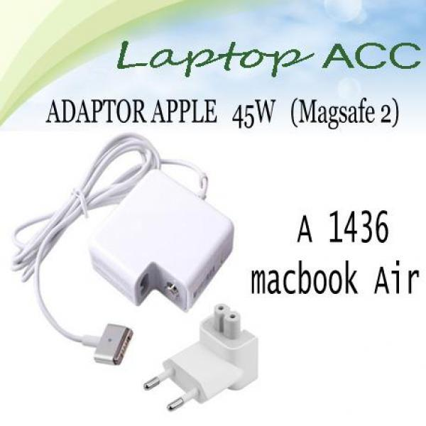 Adaptor apple Charger Macbook Air 45w a1436 ori 100