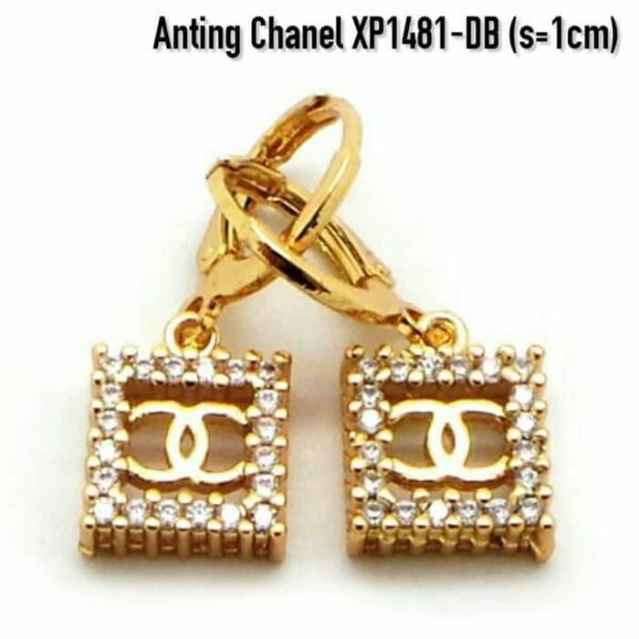 Anting Cantik Perhiasan Lapis Emas Gold Xuping Aksesoris Wanita XP1481-DB