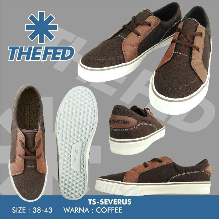 The Fed TS-Severus Coffee - Sepatu Casual - Sepatu Sneaker - Sepatu Murah -