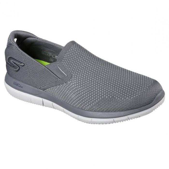 Skechers - GOFlex 2 Maneuver Sepatu Sneakers Pria - Abu-Abu a38ea618ee