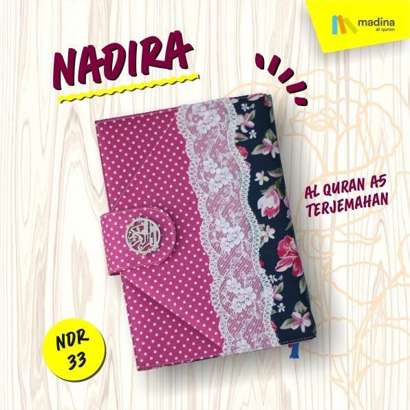 Al Quran / ALQURAN Rainbow Pelangi Nadhira Madina Terjemahan Ukuran A5 - NDR33
