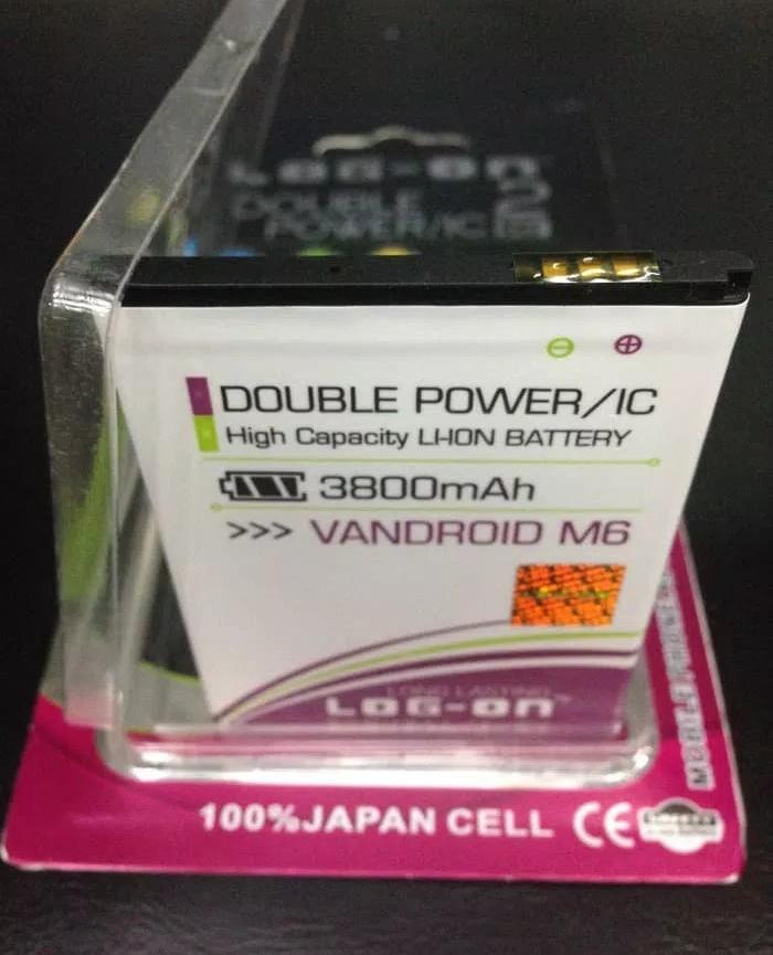 Baterai battery batre Advan M6 / S5E new Original Log on Double power