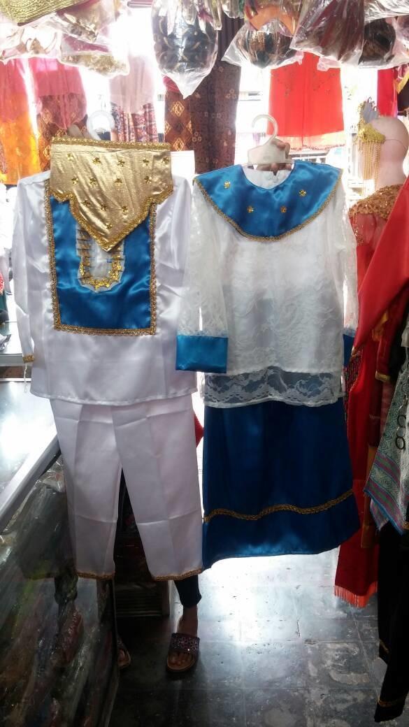 Baju adat manado anak ukuran M