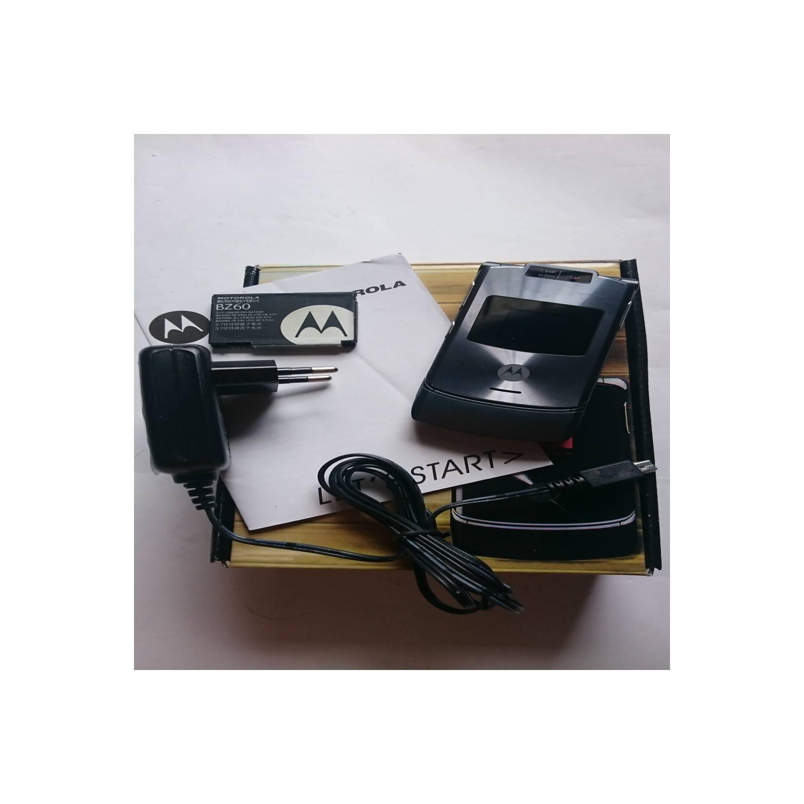 Motorola RAZR V3xx Grey - HP Jadul Original