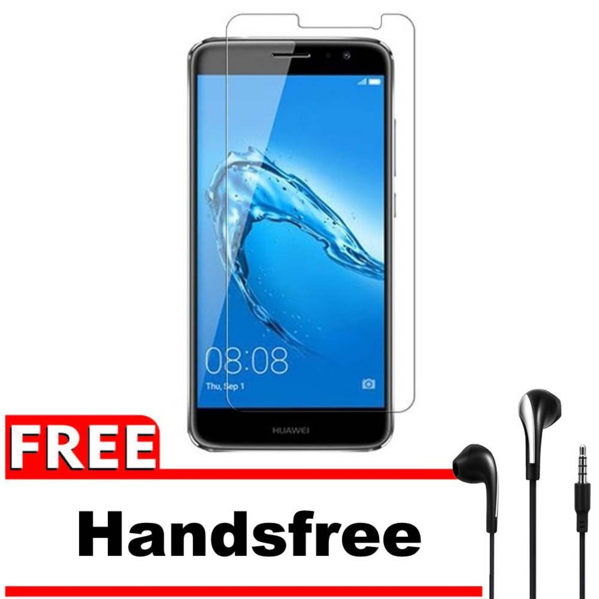 Vn Huawei Ascend Nova 2i Tempered Glass 9H Screen Protector 0.32mm + Gratis Free Handsfree