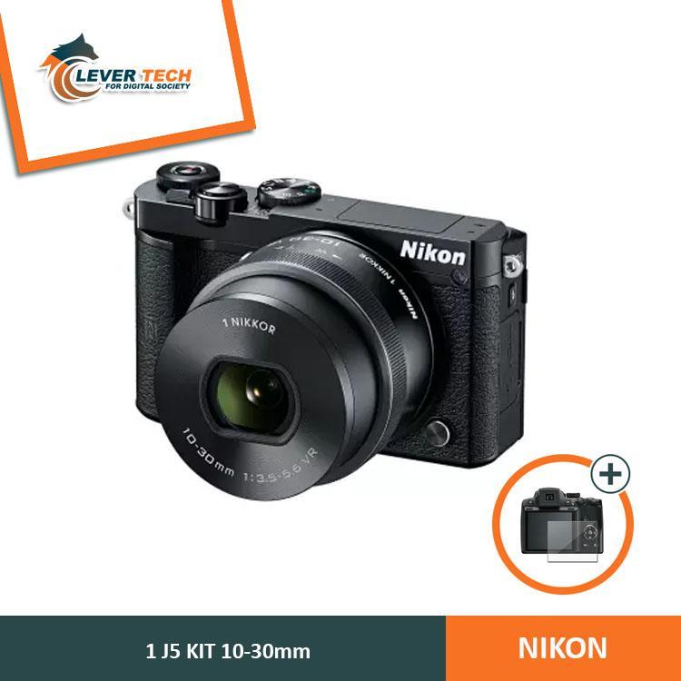 Nikon 1 J5 Kit 10-30mm (Free Screenguard Terpasang)