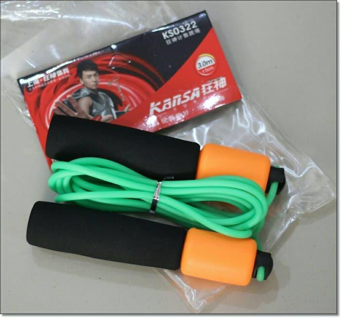 Tali Skiping Kanza Digital (ada counter/penghitung lompatan)