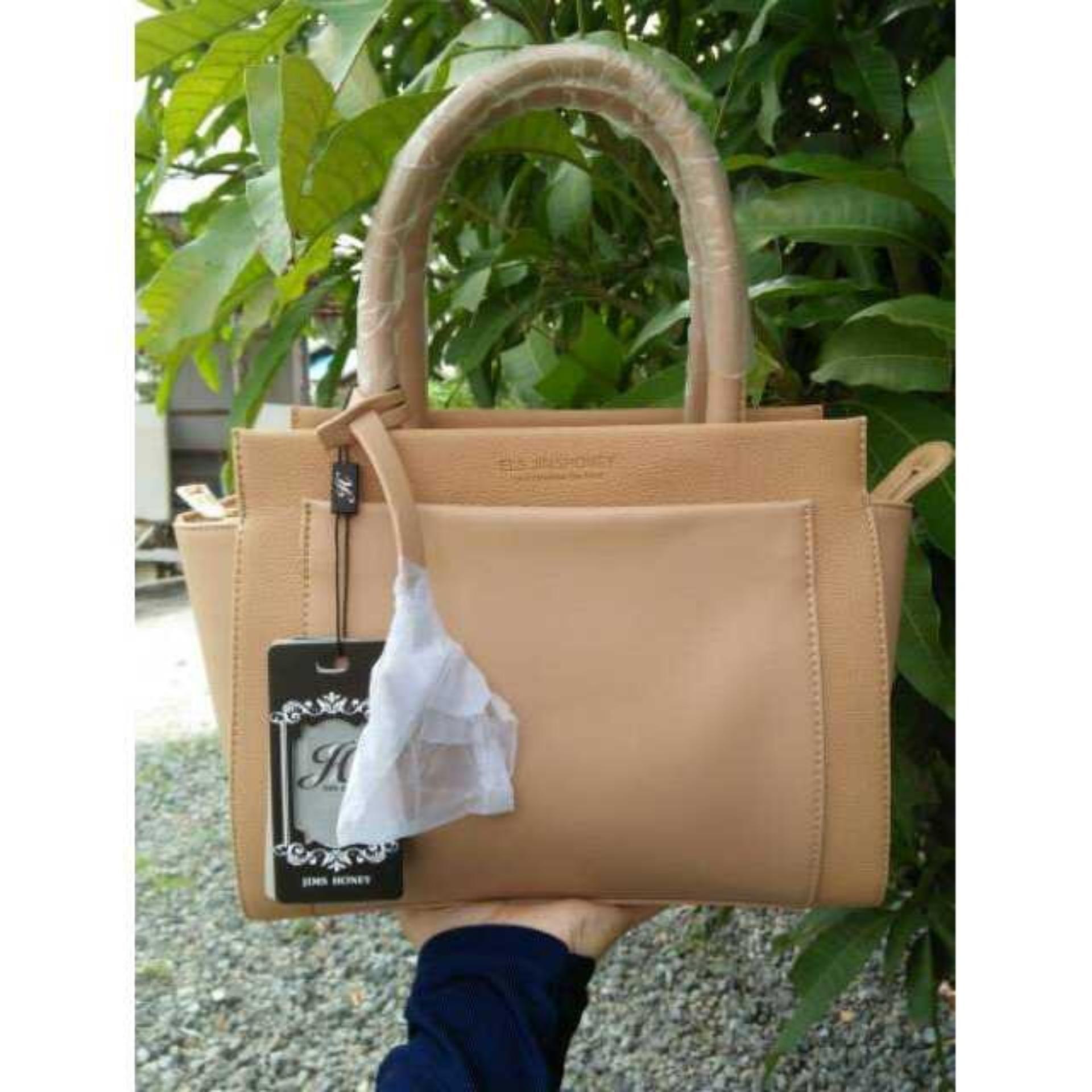 JH Celine Bag - Tas Import Jim's'honey ORGINAL [BROWN]