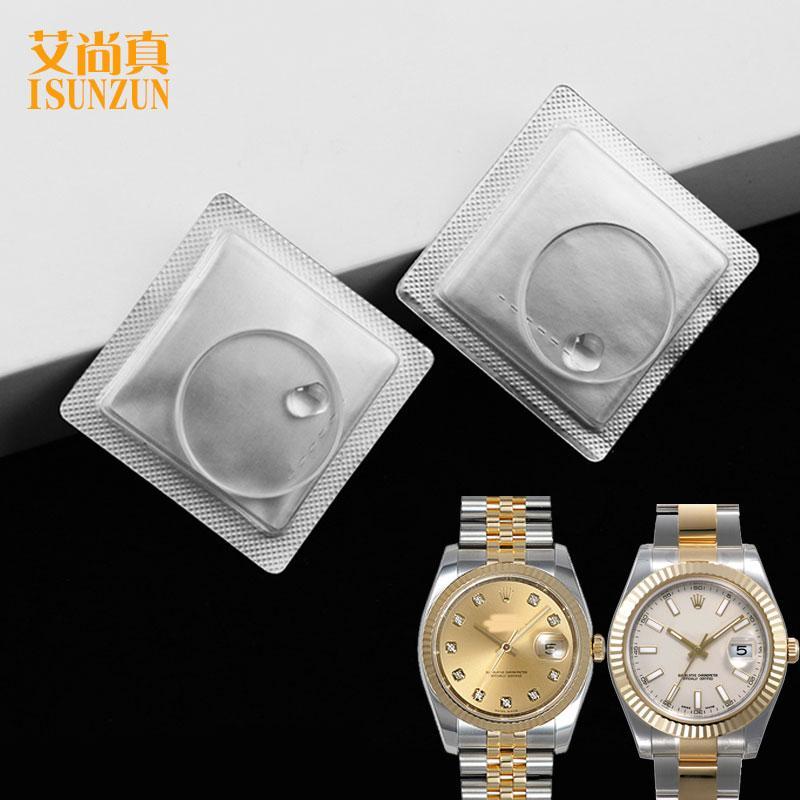 Rolex Cermin Meja R-69173 Cermin Batu Safir Selai Tangan