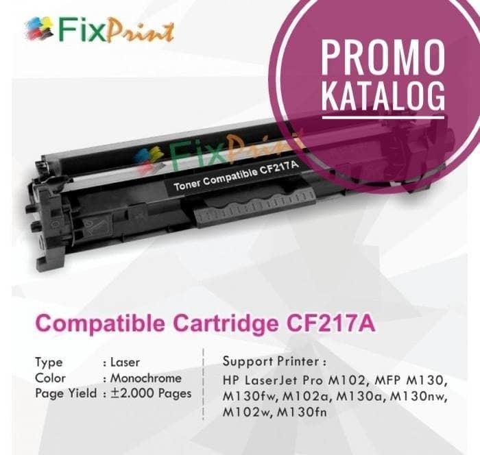 Cartridge Toner Compatible HP CF217A 17A, Printer HP LaserJet Pro M102 Terlaris di Lazada