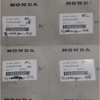 Sil & Seal Water Pump Vario & Cs1 Kecil Original Honda