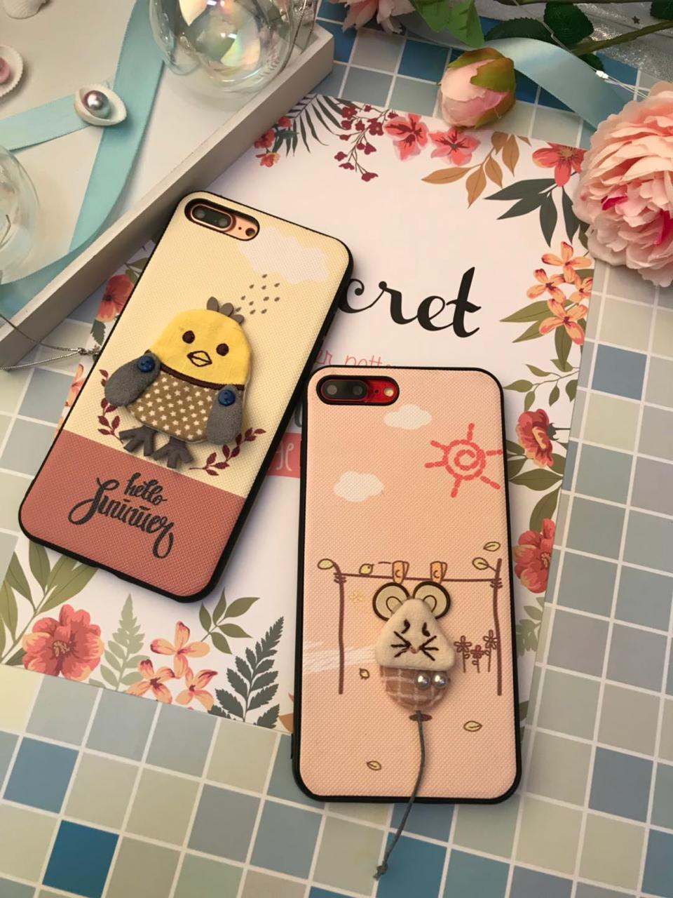 Case 4D Boneka Happy Morry For Vivo Y71 / Case Karakter / Case Happy Morry / Case 4D Boneka Lucu - Motif Random