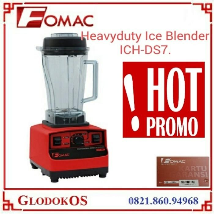 Blender Fomac Ich-Ds7 / Juice Buah Sayur Es Smooty Bumbu Alat Resto - 7Kck6s