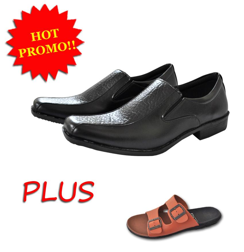 Pulchra Sepatu Pantofel Crocs Skin Type B1 Variasi free Sandal Pria Casual Birken Stock Type M.14