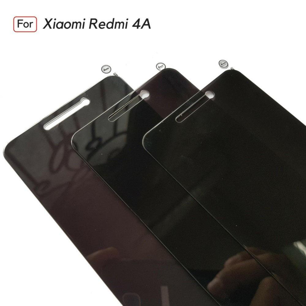 ANTI SPY Assassin Tempered Glass Premium Screen Protector Privacy For Xiaomi Redmi 4A