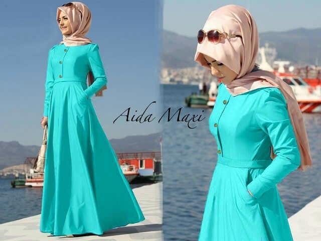 maxi aida (Tosca) / Baju wanita / gamis / baju atasan wanita / Baju wanita murah / baju wanita jumbo / baju polos / baju wanita polos / baju pesta / kemeja wanita / baju couple / dress