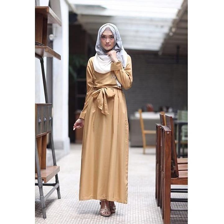 JAKARTA GROSIR -  azziziyah dress sf.f Fashion Dress / Atasan / Tunik / size M, L dan XL