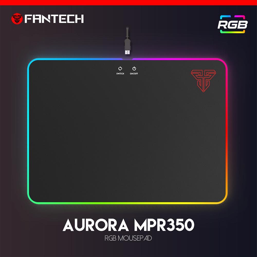 Fantech Mousepad Gaming AURORA MPR350 RGB