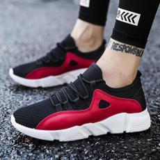 Sepatu pria musim dingin sepatu trendi 2018 terpencil warna hitam murni  bernapas sepatu olahraga Pusat Kebugaran cf651cf2e4