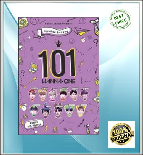 Ngakak Bareng 101 Wanna One By Mhimashop.