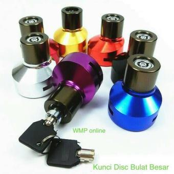 Bandingkan Toko Alarm Sepeda Motor | Alarm Motor Anti Maling | Gembok Alarm Motor - Kunci Disk Disc Lock Bulat Besar CNC Gembok Cakram - Emas sale - Hanya ...