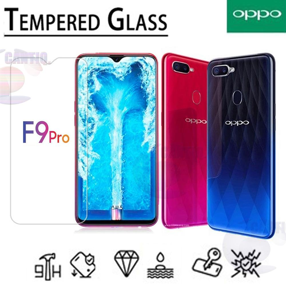 Icantiq Temper Glass Oppo F9 Pro 2018 Ukuran 6.3 Inch Tempered Glass Oppo F9 Pro 2018