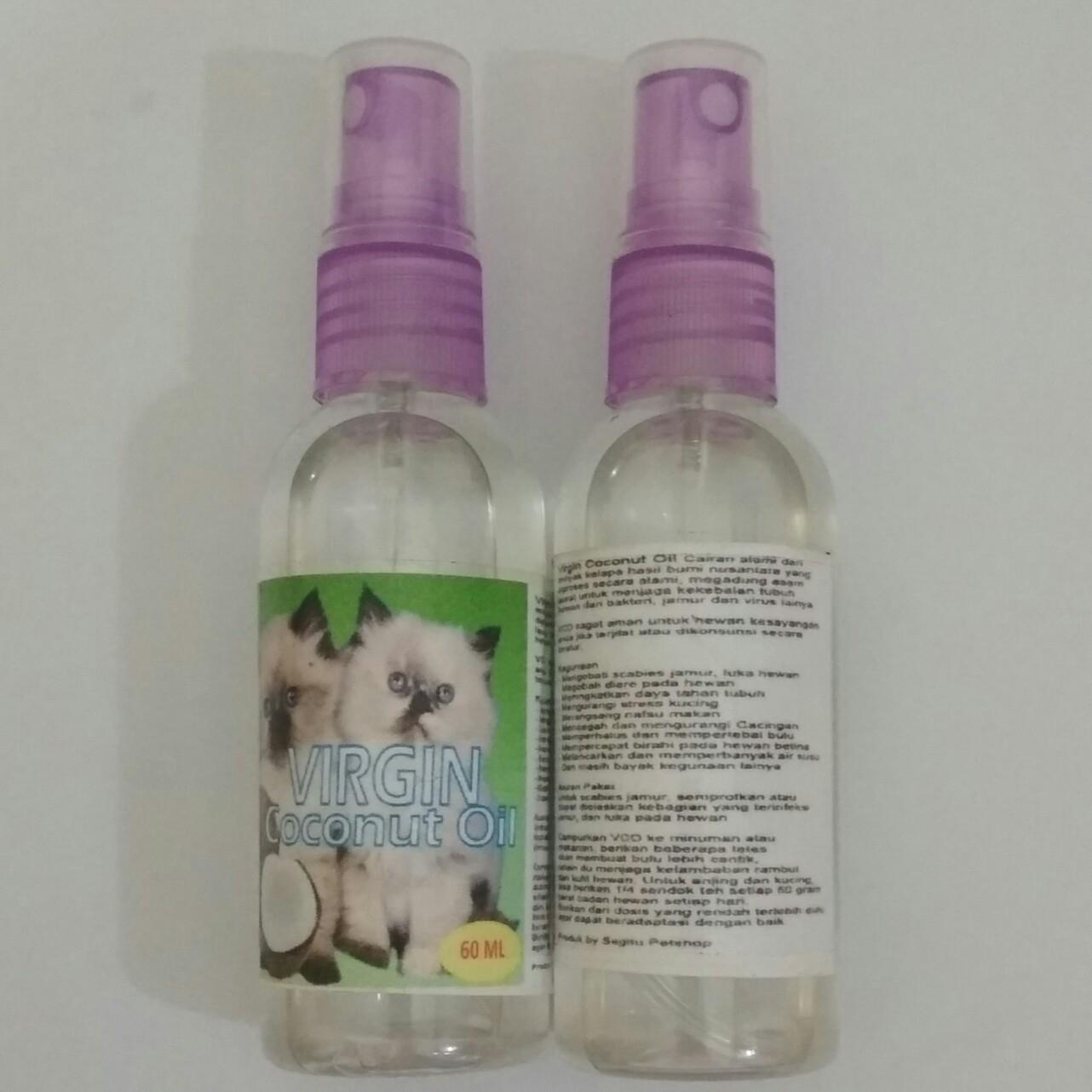 Obat Vitamin Kucing Skebies Obat Cacing Koreng Luka Vco Kucing 60 Ml By Petstore Tangerang.