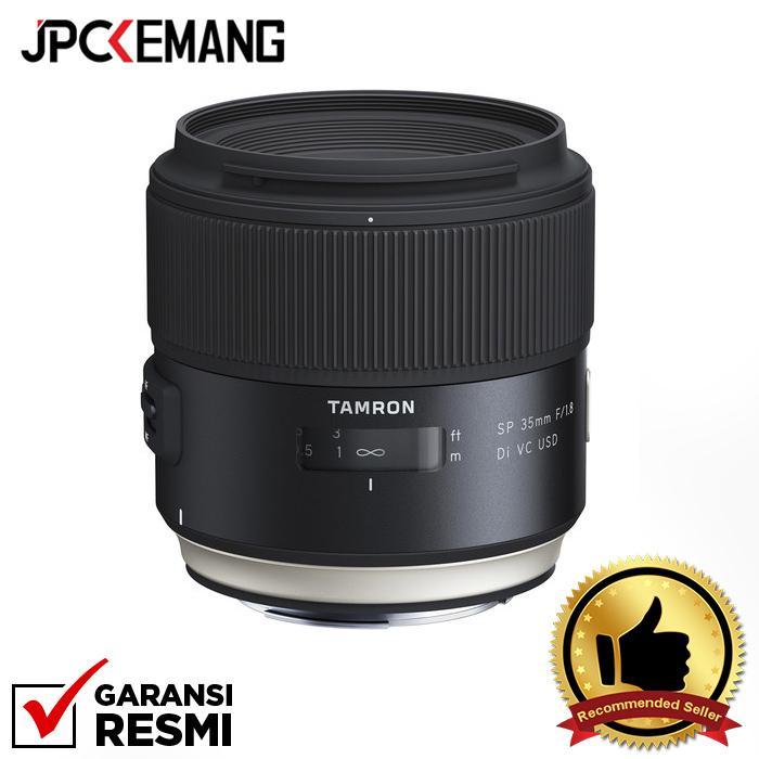 Tamron for Canon SP 35mm F/1.8 Di VC USD jpckemang GARANSI RESMI