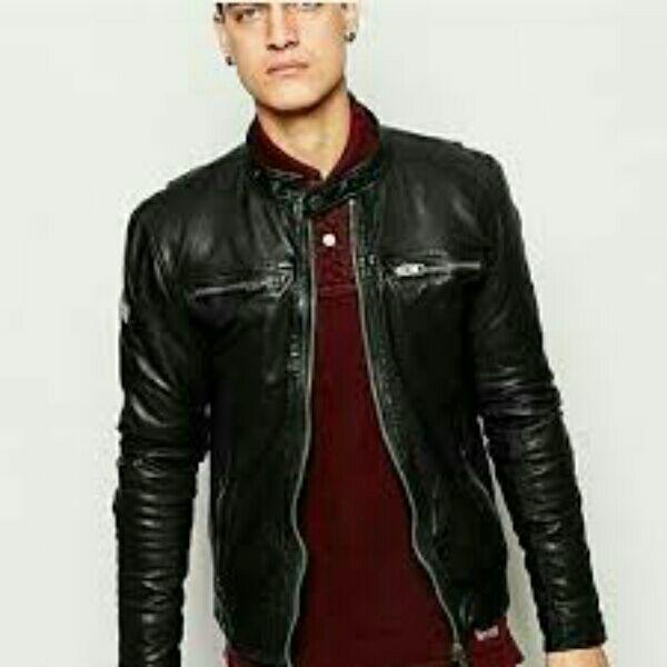 King's jaket kulit sintetis garut
