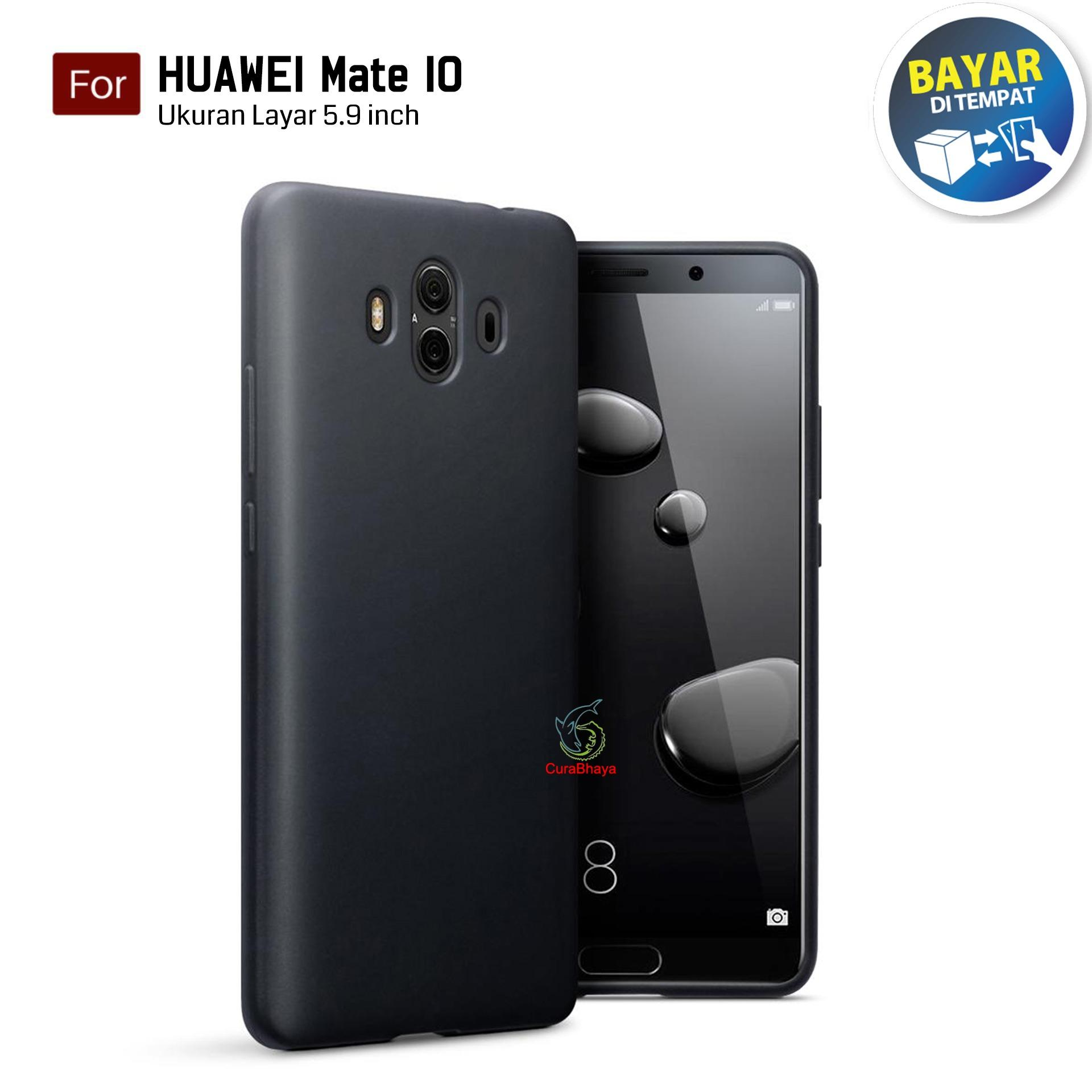 SOFTCASE ULTRATHIN FOR HUAWEI HONOR 4A HITAM CLEAR. Midnight Huawei Mate 10   Slim Case Black Matte Softcase Premium Baby Skin - Hitam