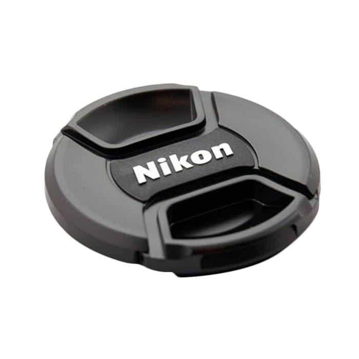 Lens Cap Tutup Lensa Nikon 52mm Lens Cap 52mm For Kit Lens 18-55 / Penutup Lensa Kamera Nikon Terbaru / Cap Tutup Lensa Nikon Murah Terlaris