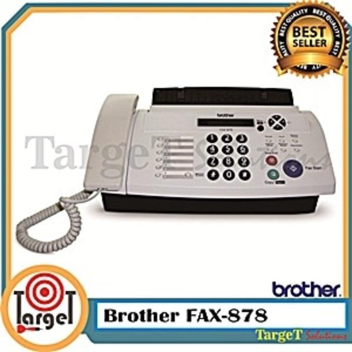Promo Brother Fax 878/Mesin Fax/Printer/Scanner/Mesin Fotocopy/Toner/Jilid Original