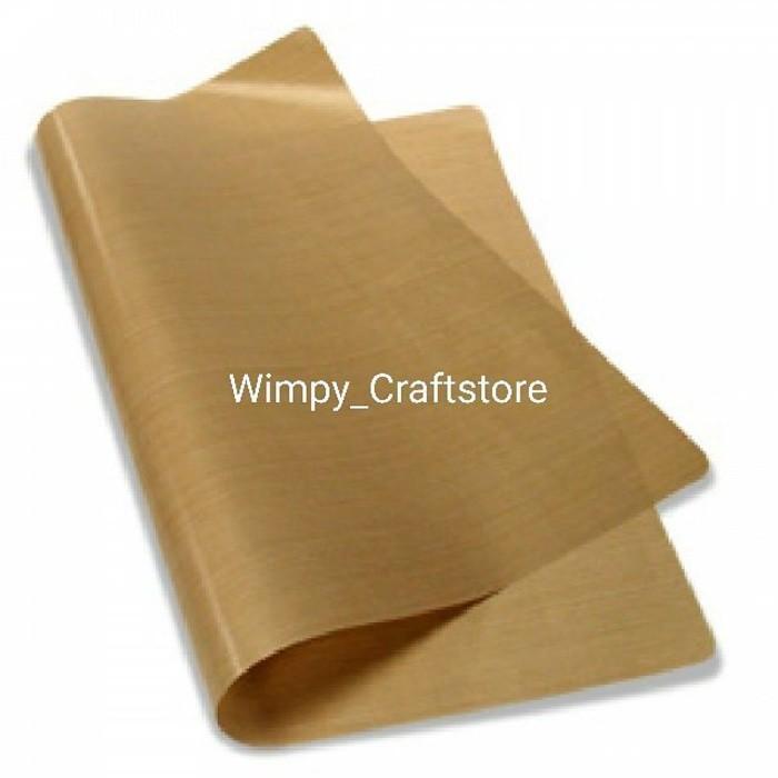 Clay Mat Craft Mat Kain Teflon Sheet Kertas Teflon Alat Clay Craft - Hy19i3