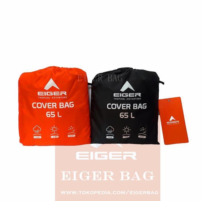 Terlaris - Rain Cover Eiger 65L G898 Warna Orange Dan Hitam   Tas Hujan -  ready 43743e6f13