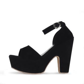 Beli sekarang PierDev Original-High Heels Pump Korea Hitam terbaik murah -  Hanya Rp86.545 0eb217d96b