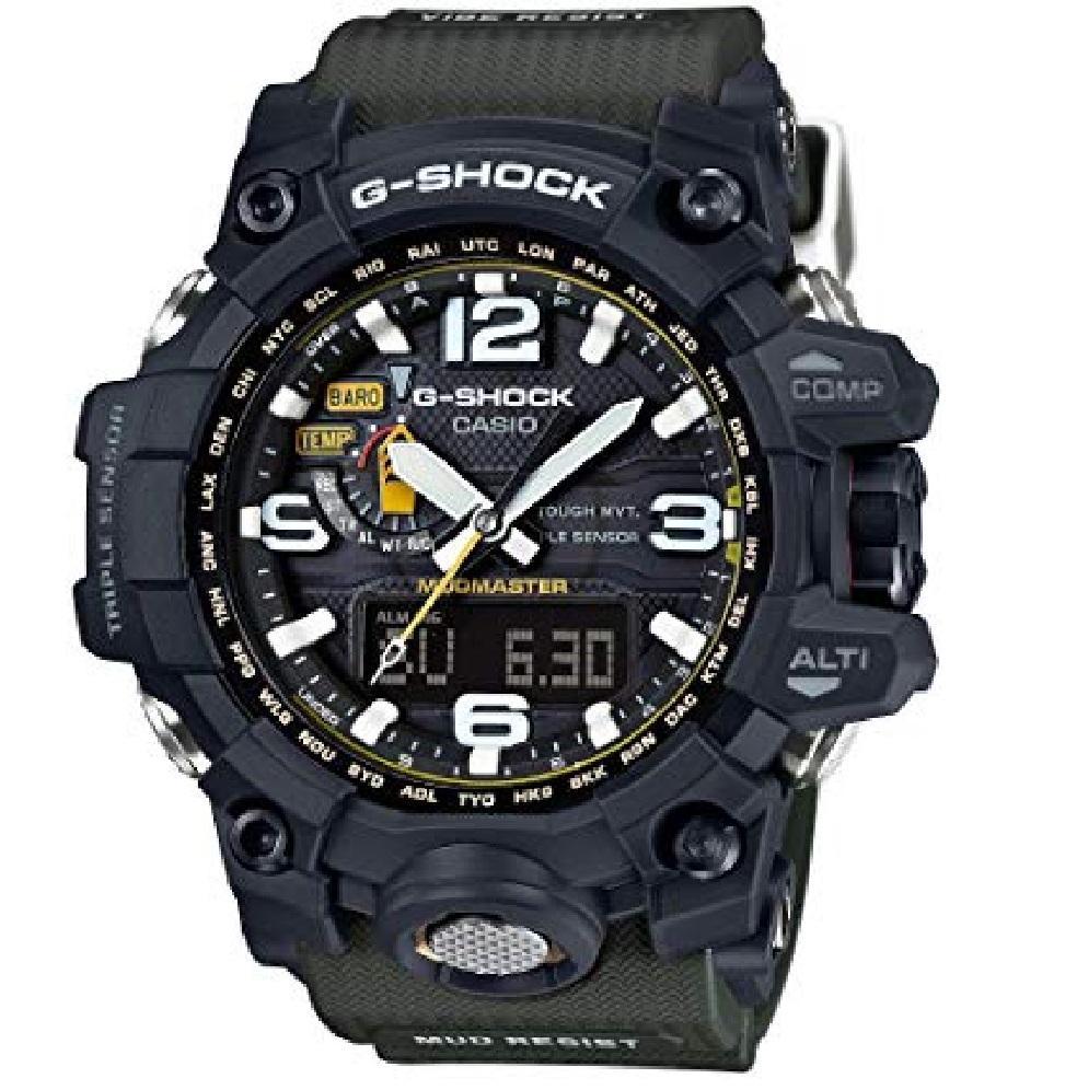 Casio G-Shock GWG-1000-1A3JF Mudmaster Jam Tangan Pria - Green